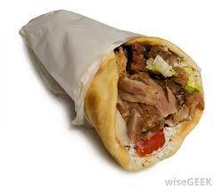 GYRO SANDWICH!